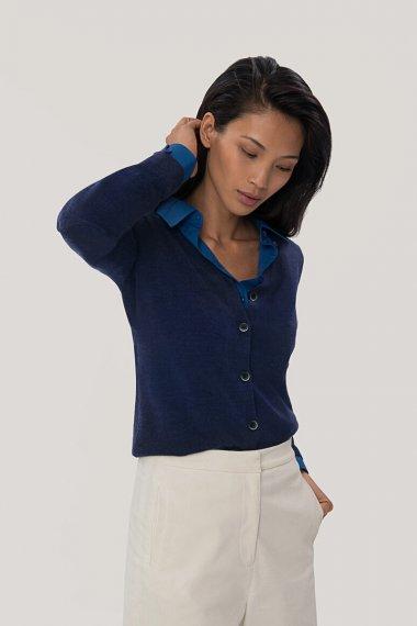 Damen Cardigan Merino-Wool