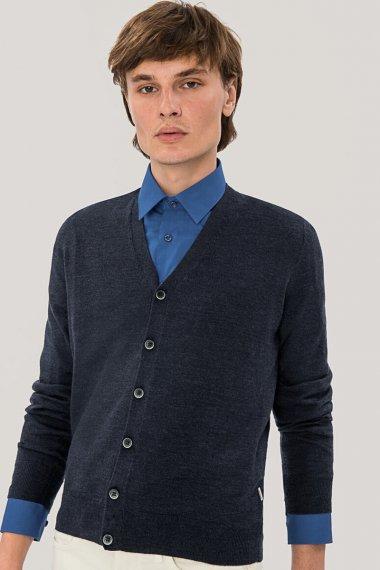 Cardigan Merino-Wool
