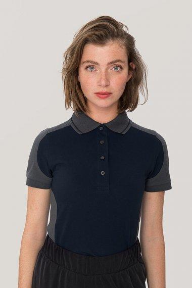 Damen Poloshirt Contrast Mikralinar®