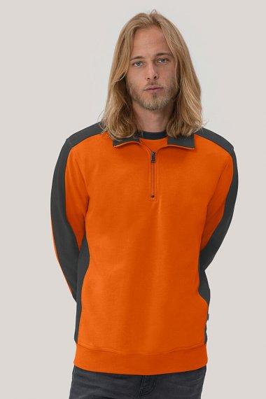 Zip-Sweatshirt Contrast Mikralinar®