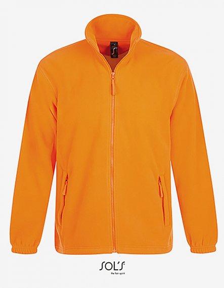 Fleecejacke North 5XL | Neon Orange